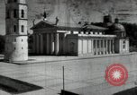 Image of reconstruction of buildings Lithuania Soviet Union, 1947, second 9 stock footage video 65675074786