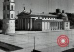 Image of reconstruction of buildings Lithuania Soviet Union, 1947, second 10 stock footage video 65675074786