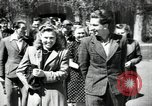 Image of Lithuanian students Vilnius Lithuanian Soviet Socialist Republic, 1947, second 1 stock footage video 65675074792