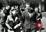 Image of Lithuanian students Vilnius Lithuanian Soviet Socialist Republic, 1947, second 3 stock footage video 65675074792