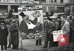 Image of Antiwar demonstration United States USA, 1936, second 4 stock footage video 65675074809