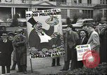 Image of Antiwar demonstration United States USA, 1936, second 5 stock footage video 65675074809