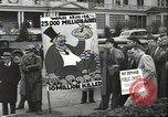 Image of Antiwar demonstration United States USA, 1936, second 6 stock footage video 65675074809