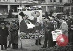 Image of Antiwar demonstration United States USA, 1936, second 7 stock footage video 65675074809