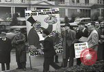 Image of Antiwar demonstration United States USA, 1936, second 9 stock footage video 65675074809