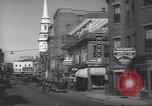 Image of traffic Portsmouth New Hampshire USA, 1938, second 2 stock footage video 65675074824
