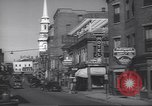 Image of traffic Portsmouth New Hampshire USA, 1938, second 9 stock footage video 65675074824