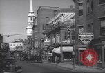 Image of traffic Portsmouth New Hampshire USA, 1938, second 10 stock footage video 65675074824