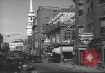Image of traffic Portsmouth New Hampshire USA, 1938, second 11 stock footage video 65675074824