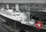 Image of German liner Bremen New York United States USA, 1938, second 1 stock footage video 65675074847