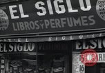 Image of Spanish stores New York United States USA, 1939, second 2 stock footage video 65675074861