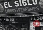 Image of Spanish stores New York United States USA, 1939, second 6 stock footage video 65675074861