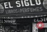 Image of Spanish stores New York United States USA, 1939, second 9 stock footage video 65675074861