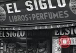 Image of Spanish stores New York United States USA, 1939, second 10 stock footage video 65675074861