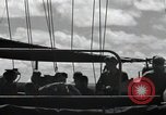 Image of destroyer escort Peleliu Palau Islands, 1944, second 7 stock footage video 65675074869