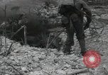 Image of Marines Peleliu Palau Islands, 1944, second 6 stock footage video 65675074871