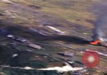 Image of strafing Japanese plane Pacific Theater, 1944, second 9 stock footage video 65675074897