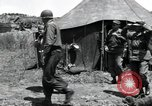 Image of General Frank W Milburn Korea, 1951, second 8 stock footage video 65675074929