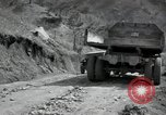 Image of supply trucks Kachil-Bong Korea, 1952, second 3 stock footage video 65675074932