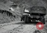 Image of supply trucks Kachil-Bong Korea, 1952, second 4 stock footage video 65675074932