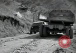Image of supply trucks Kachil-Bong Korea, 1952, second 5 stock footage video 65675074932
