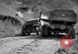 Image of supply trucks Kachil-Bong Korea, 1952, second 7 stock footage video 65675074932
