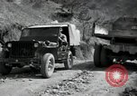 Image of supply trucks Kachil-Bong Korea, 1952, second 10 stock footage video 65675074932