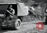 Image of supply trucks Kachil-Bong Korea, 1952, second 12 stock footage video 65675074932