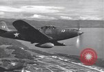 Image of P-39 Airacobra fighters Guadalcanal Solomon Islands, 1943, second 8 stock footage video 65675074951