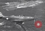 Image of P-39 Airacobra fighters Guadalcanal Solomon Islands, 1943, second 10 stock footage video 65675074951