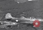 Image of P-39 Airacobra fighters Guadalcanal Solomon Islands, 1943, second 12 stock footage video 65675074951