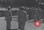 Image of 44th Fighter Squadron Award Ceremony Guadalcanal Solomon Islands, 1943, second 1 stock footage video 65675074953