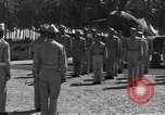 Image of 44th Fighter Squadron Award Ceremony Guadalcanal Solomon Islands, 1943, second 3 stock footage video 65675074953