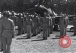 Image of 44th Fighter Squadron Award Ceremony Guadalcanal Solomon Islands, 1943, second 5 stock footage video 65675074953