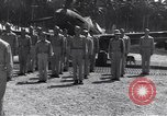 Image of 44th Fighter Squadron Award Ceremony Guadalcanal Solomon Islands, 1943, second 6 stock footage video 65675074953