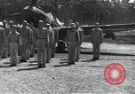 Image of 44th Fighter Squadron Award Ceremony Guadalcanal Solomon Islands, 1943, second 7 stock footage video 65675074953