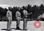Image of 44th Fighter Squadron Award Ceremony Guadalcanal Solomon Islands, 1943, second 9 stock footage video 65675074953