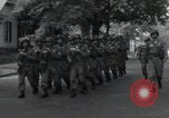 Image of 101st Airborne guards Little Rock Arkansas USA, 1957, second 7 stock footage video 65675074992