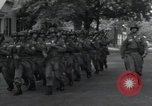 Image of 101st Airborne guards Little Rock Arkansas USA, 1957, second 8 stock footage video 65675074992