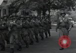 Image of 101st Airborne guards Little Rock Arkansas USA, 1957, second 9 stock footage video 65675074992