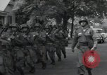Image of 101st Airborne guards Little Rock Arkansas USA, 1957, second 10 stock footage video 65675074992