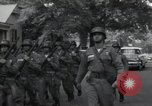Image of 101st Airborne guards Little Rock Arkansas USA, 1957, second 11 stock footage video 65675074992