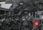 Image of 101st Airborne guards Little Rock Arkansas USA, 1957, second 12 stock footage video 65675074992
