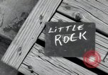 Image of 101st Airborne guards Little Rock Arkansas USA, 1957, second 7 stock footage video 65675074993