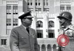 Image of Major General Edwin G Walker Little Rock Arkansas USA, 1957, second 5 stock footage video 65675074996