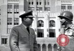 Image of Major General Edwin G Walker Little Rock Arkansas USA, 1957, second 6 stock footage video 65675074996