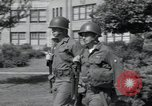 Image of 101st Airborne guards Little Rock Arkansas USA, 1957, second 12 stock footage video 65675075002