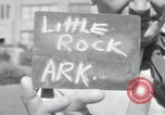 Image of 101st Airborne guards Little Rock Arkansas USA, 1957, second 6 stock footage video 65675075005
