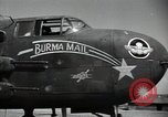 Image of B-25 Mitchell bomber Assam India, 1944, second 5 stock footage video 65675075016