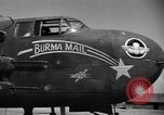 Image of B-25 Mitchell bomber Assam India, 1944, second 6 stock footage video 65675075016